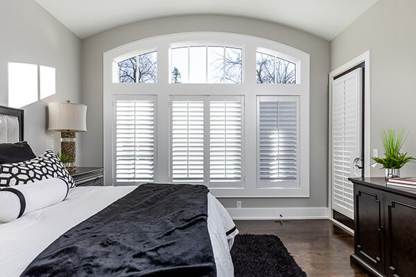bedroom plantation shutters ohair