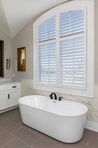 plantation shutter louver sizes bathroom